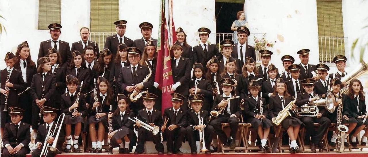 Banda d' Estivella fa 40 anys