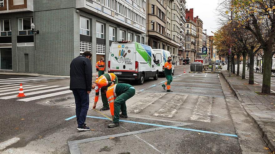Rodríguez San Pedro tendrá una nueva zona de aparcamiento y parada de taxis