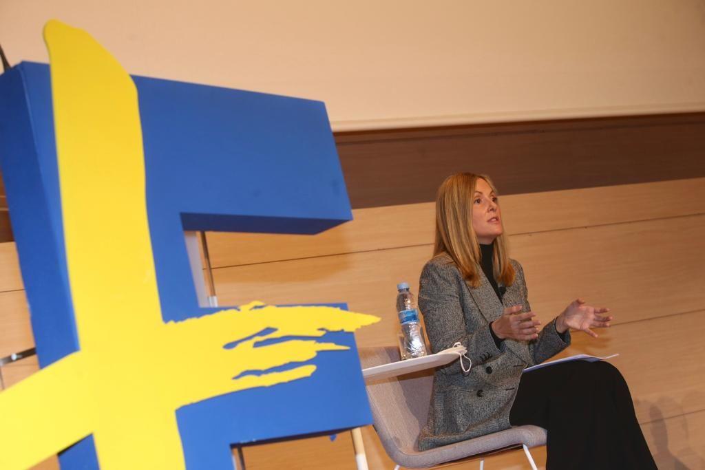 Foro +Europa: Emma Navarro, exvicepresidenta del BEI
