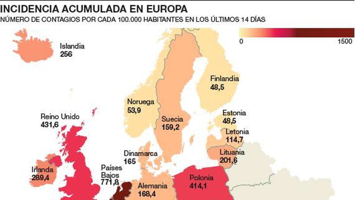 Europa, desbordada por la segunda ola