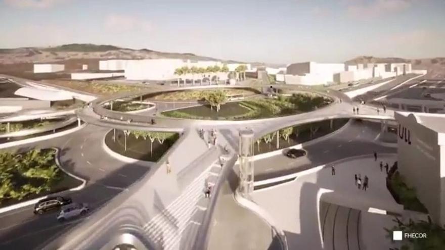 El Cabildo de Tenerife adjudica las obras de la pasarela del Padre Anchieta por 8,8 millones de euros