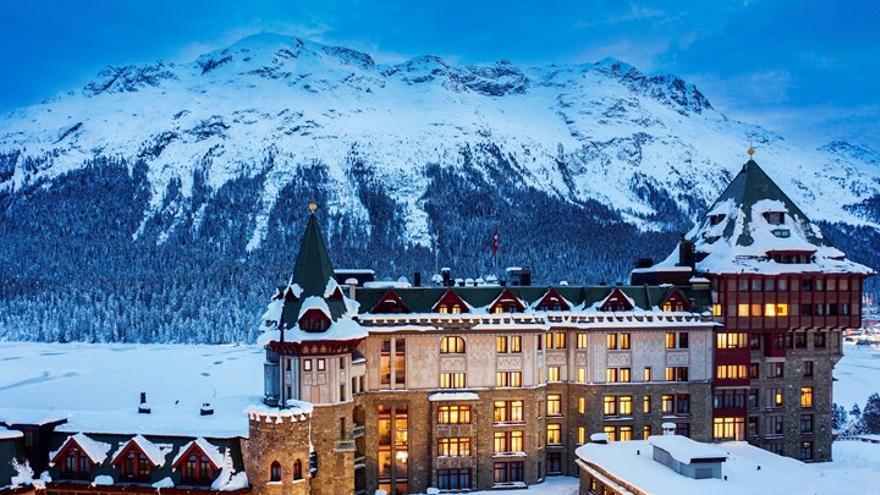 El Palace de Saint Moritz, aquel hotel, joya de un  país inteligente