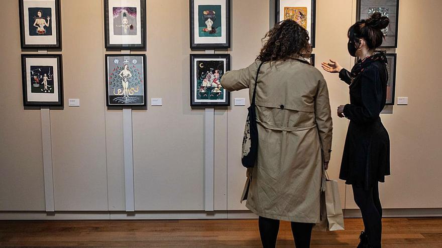 """La exposición """"55"""" da inicio a las segundas jornadas Mubaza Fem de Zamora"""