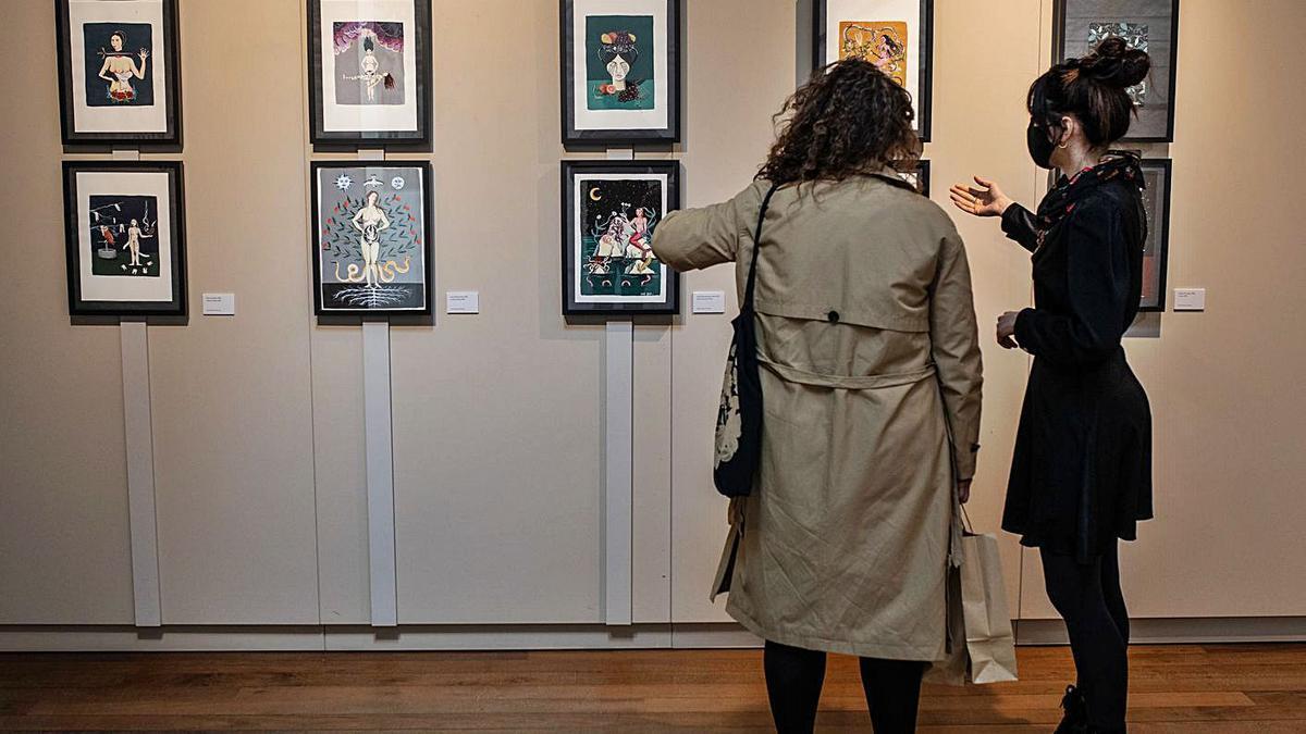 """La exposición """"55"""" da inicio a las segundas jornadas Mubaza Fem."""