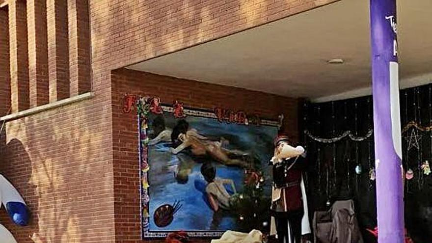 El CEIP Pintor Sorolla recibió la visita del paje real
