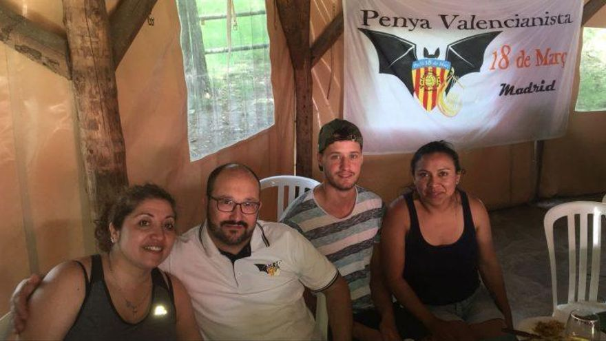 Mateu conquista las peñas del Valencia CF