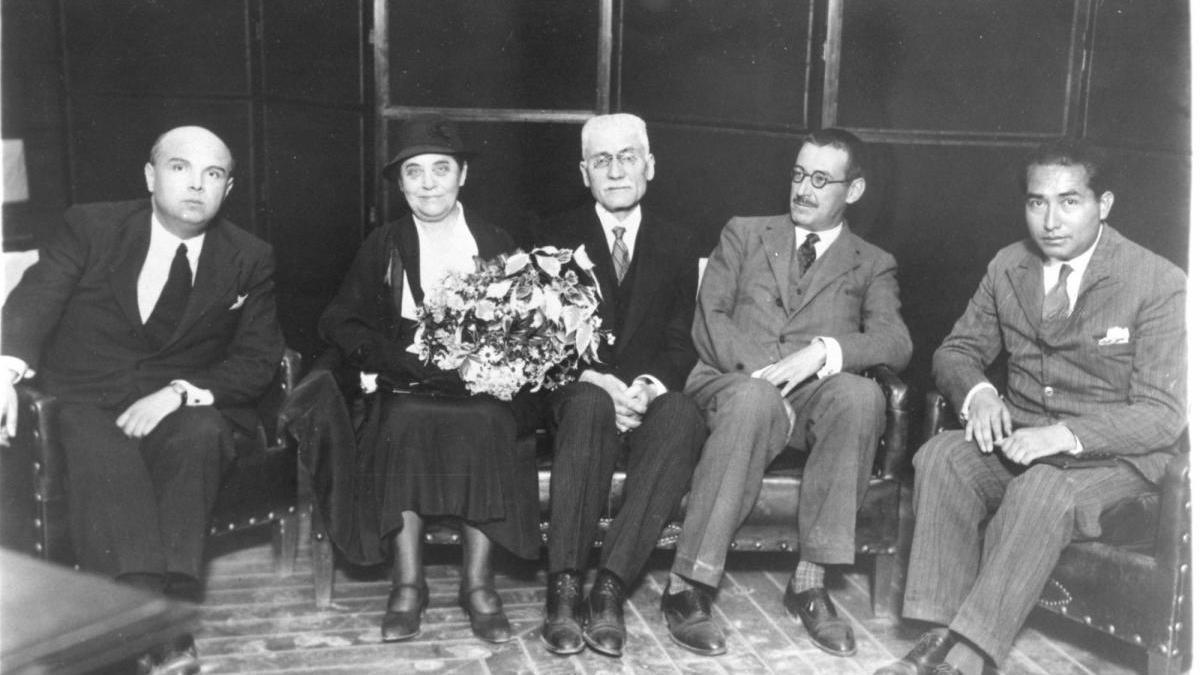 1932, Loustau, los antifascistas y el diputado Ruiz-Funes