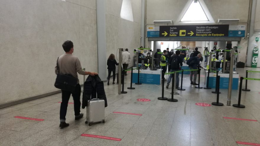 Balance en el aeropuerto de Palma: 18 pasajeros sometidos con incidencias por su PCR obligatorio