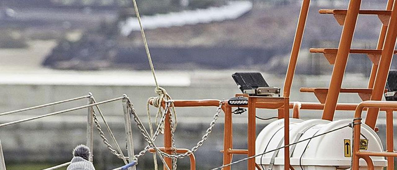 Menores llegados en febrero a Fuerteventura a bordo de una patera. | | G. FUSELLI