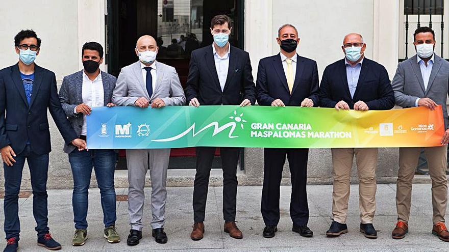 El Nacional máster se suma a la gran fiesta del Maratón Gran Canaria-Maspalomas