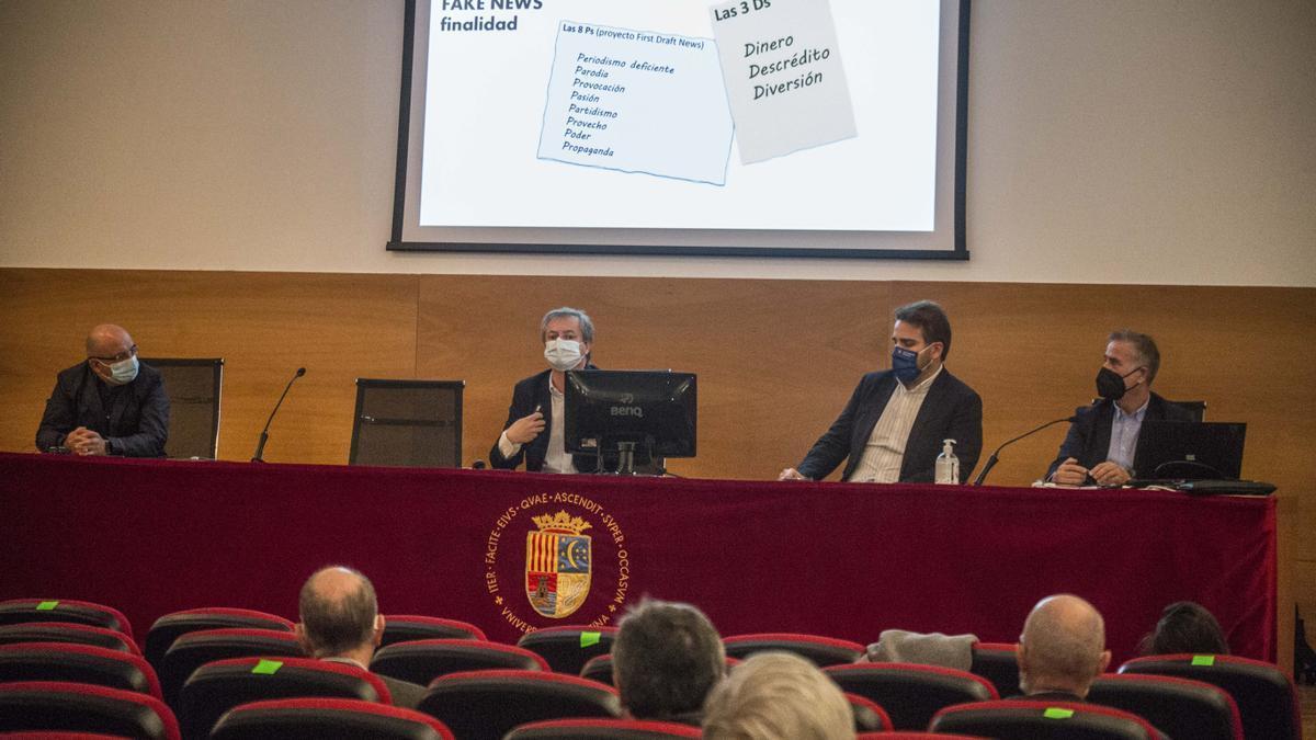 Acto de presentación en la Universidad de Alicante