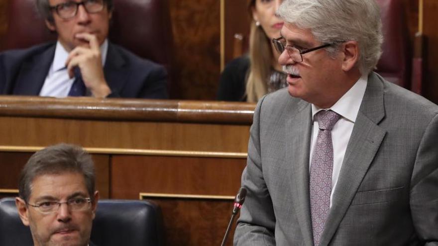 Dastis creu que Puigdemont no va declarar la independència de Catalunya