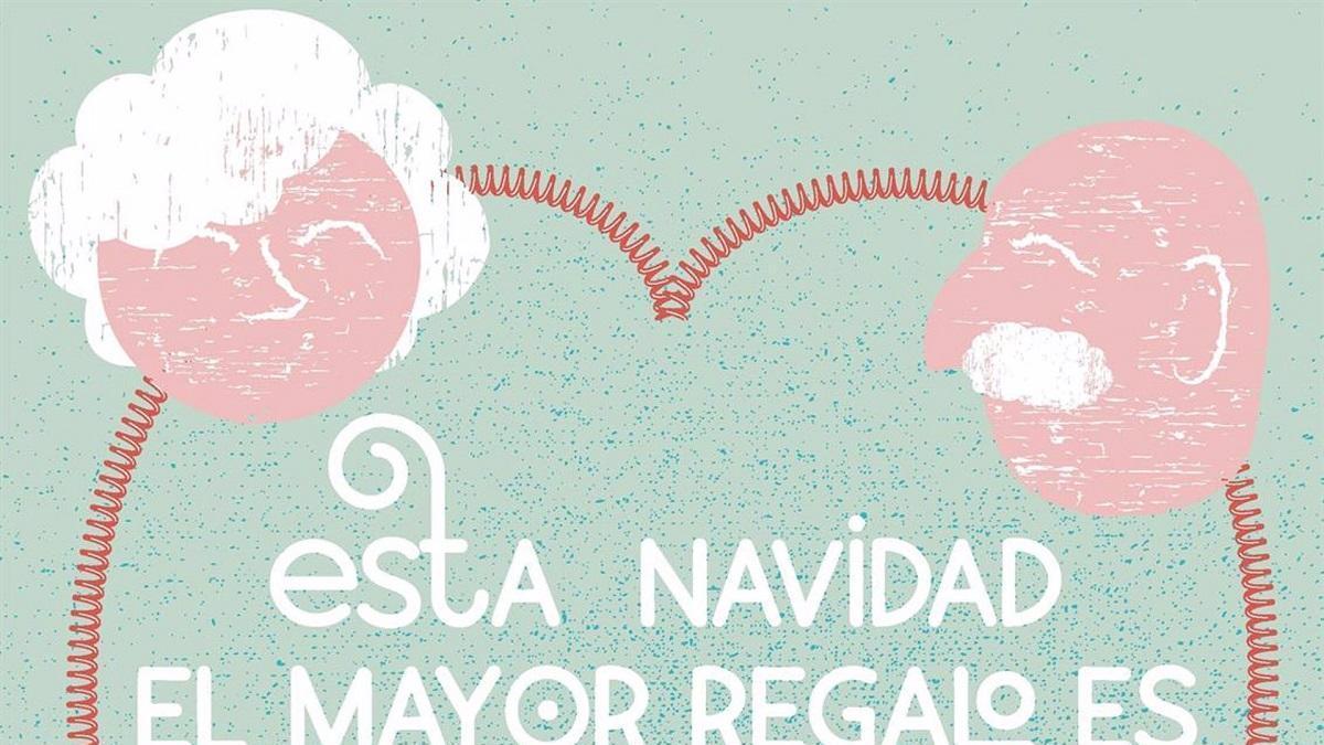 La Diputación lanza una campaña de refuerzo del Teléfono de la Soledad de las personas mayores con motivo de la Navidad.