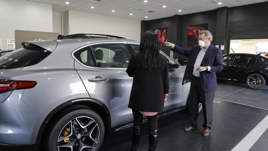 Las ventas de automóviles se hunden un 21% en octubre