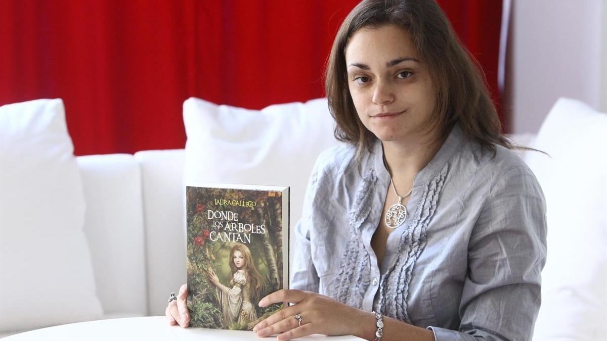 Laura Gallego, autora de ' Memorias de Idún'.