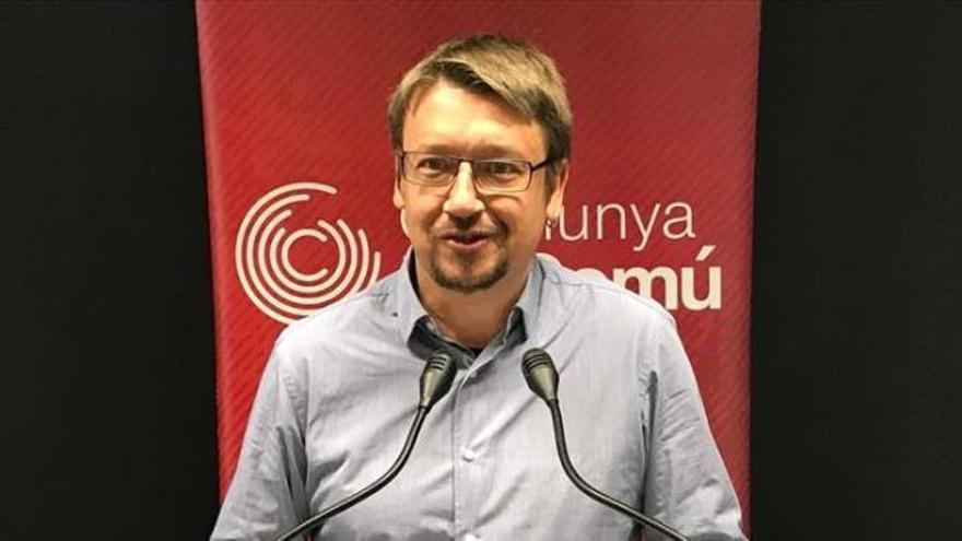 Xavier Domènech renuncia como líder de los Comuns