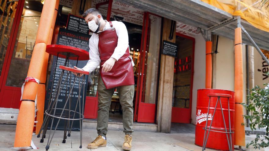 Solo 5 comarcas eluden el impacto de la tercera ola de la covid en el empleo
