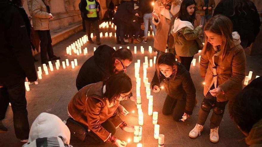 A Coruña, a oscuras por el ahorro de energía