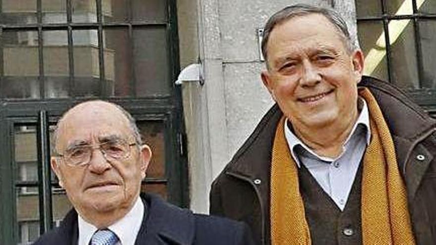 Fallece a los 89 años Ovidio García, exdirector del Instituto Jovellanos