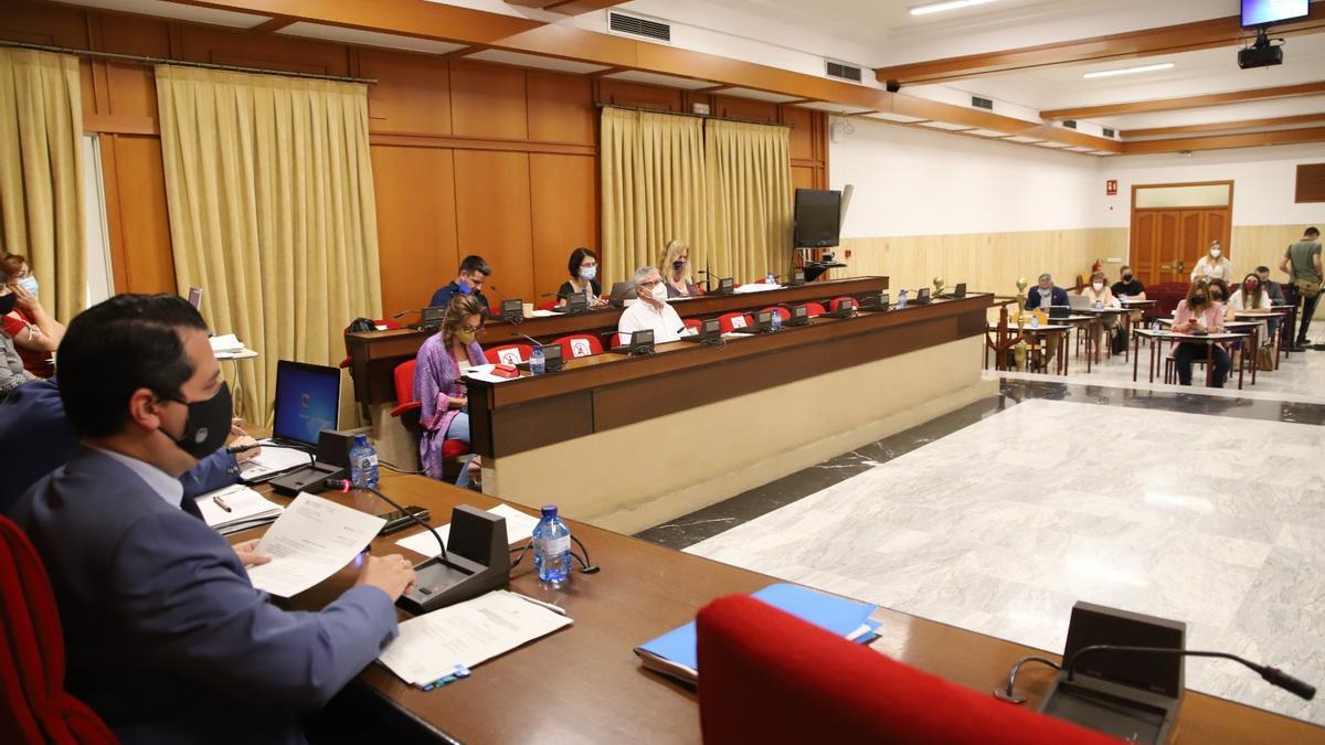 Pleno de junio del Ayuntamiento de Córdoba.