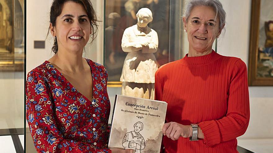 El Museo publica 8 originales de Concepción Arenal que custodia entre sus fondos