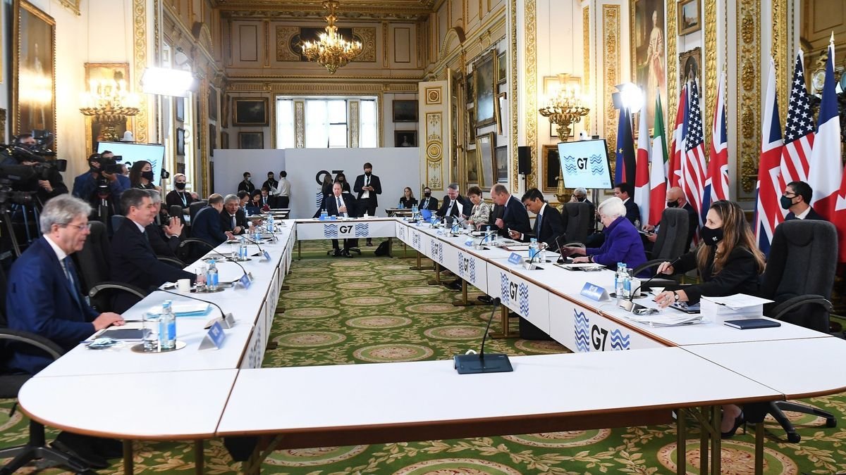 La reunió del G-7, a Londres
