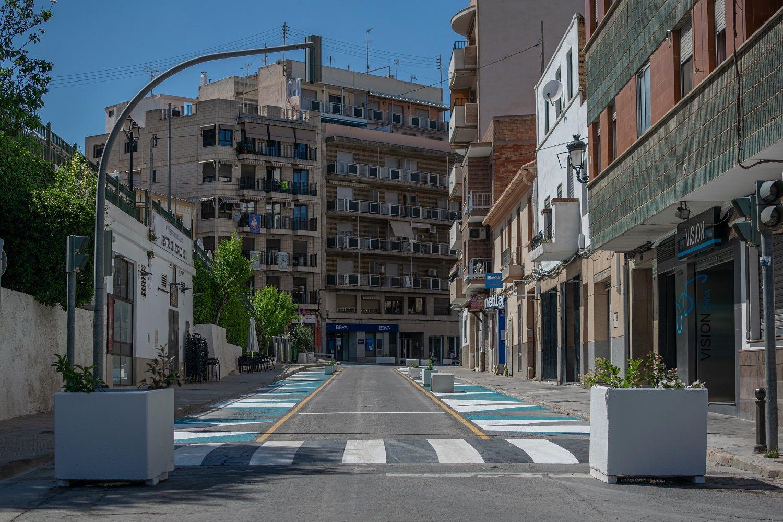 """Chiva implanta el """"urbanismo táctico"""" de Barcelona en su casco urbano"""