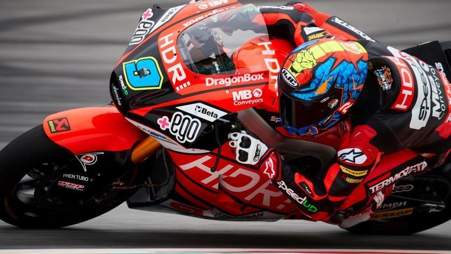 Jorge Navarro vuelve al podio en Montmeló