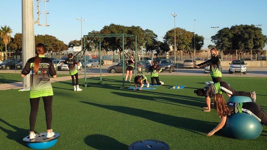 El Waterpolo Málaga adapta dinámicas y horarios para seguir entrenando