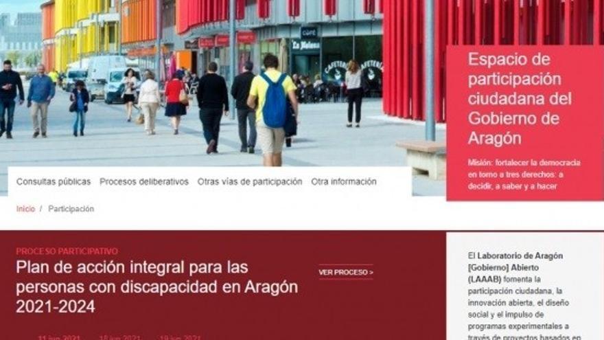 La plataforma Aragón Gobierno Abierto alcanza los 2.600 usuarios registrados