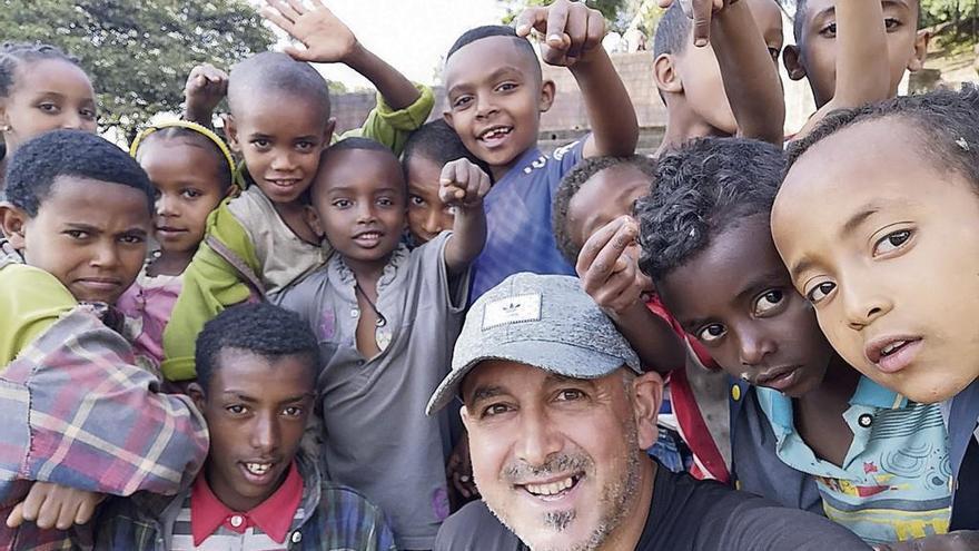 """Alberto Campa suma Etiopía al mapa de sus viajes: """"Ha sido una sorpresa"""""""