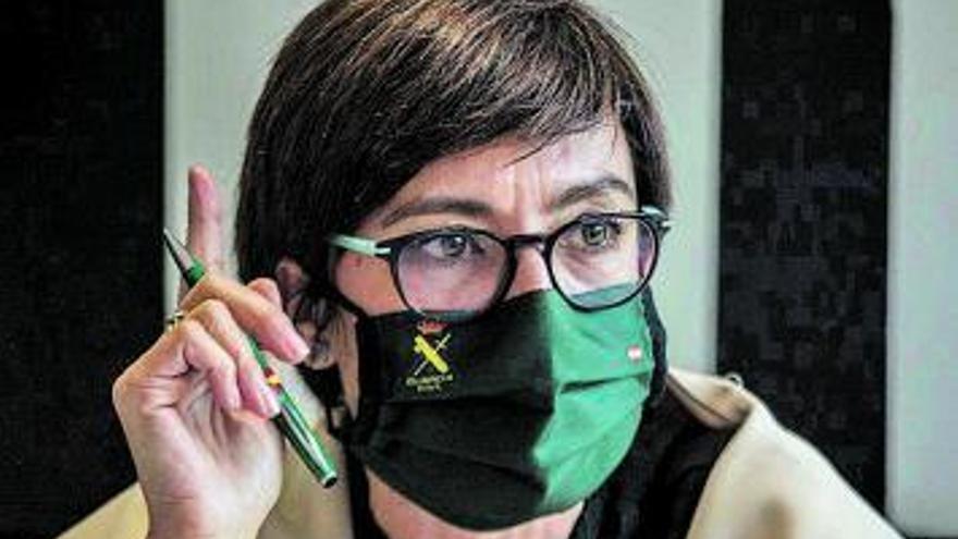 """""""En la pandemia la Guardia Civil ha sido percibida como la mano  que ayuda, no la que sanciona"""""""