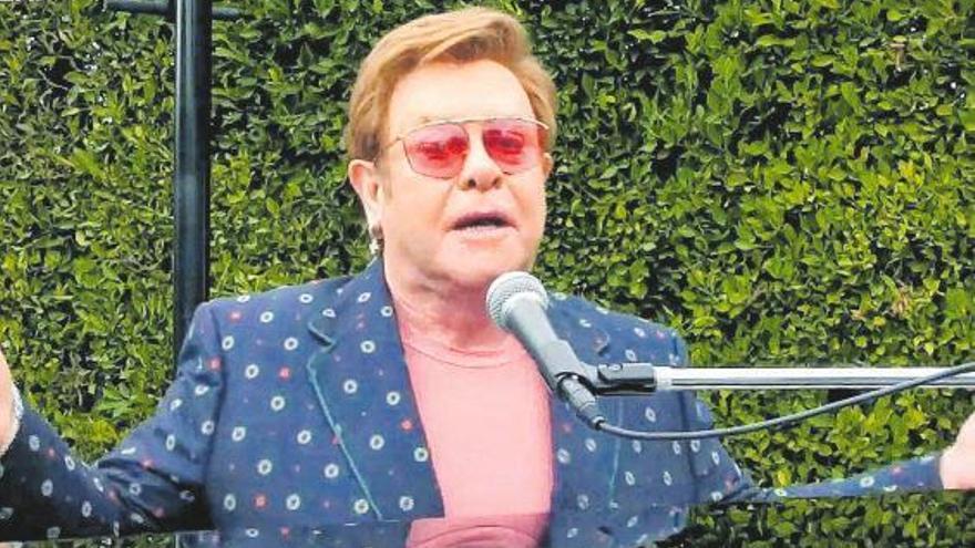 Elton John: 30 años de sobriedad