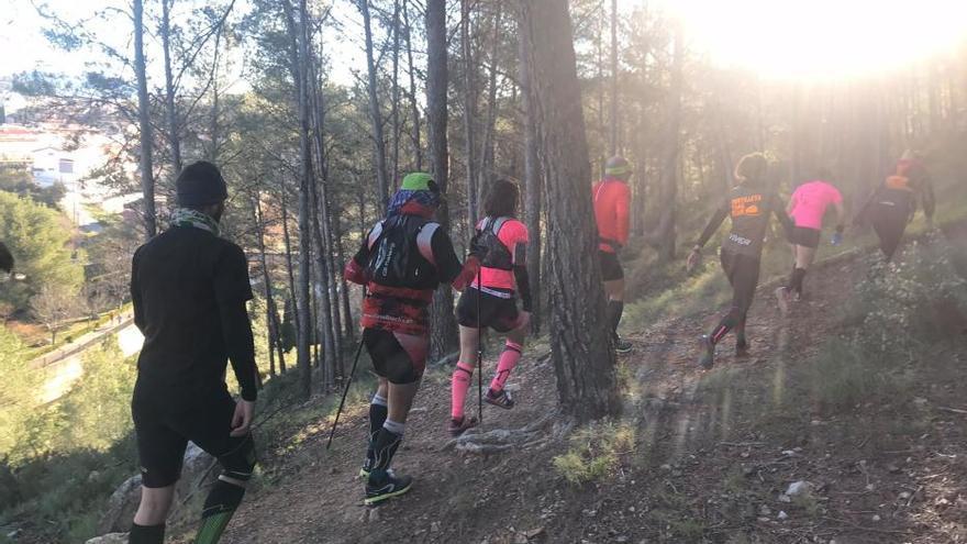 Jérica vibró con el Trail de las Trincheras