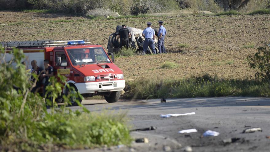 Confiesa tres años después el asesino de una periodista en Malta y la justicia le condena a 15 años