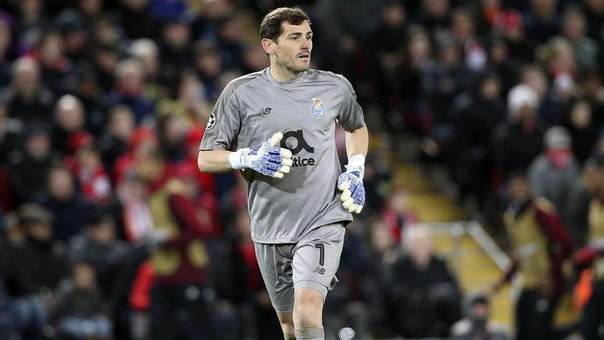 Iker Casillas, ingressat a Porto per un infart