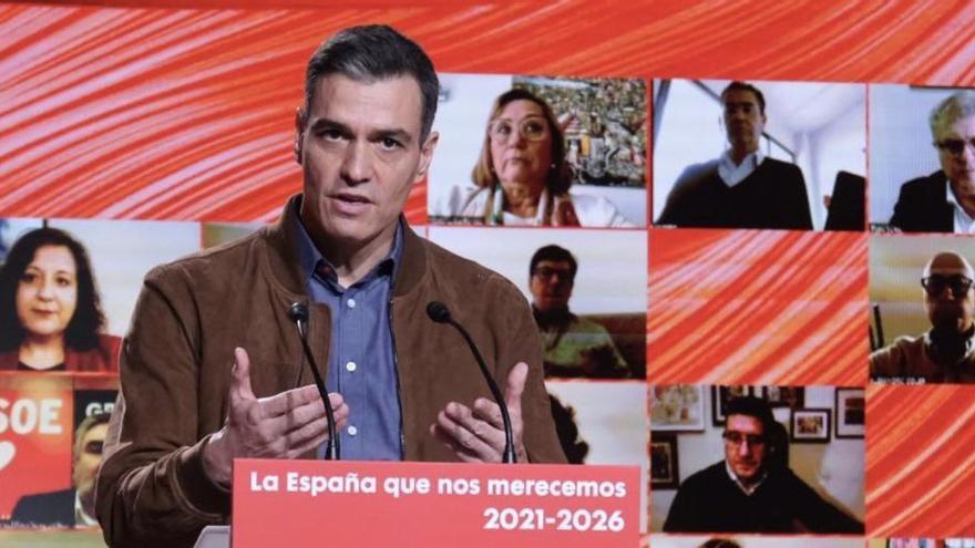 Sánchez pone de ejemplo a Asturias de cómo hay que actuar frente a la COVID