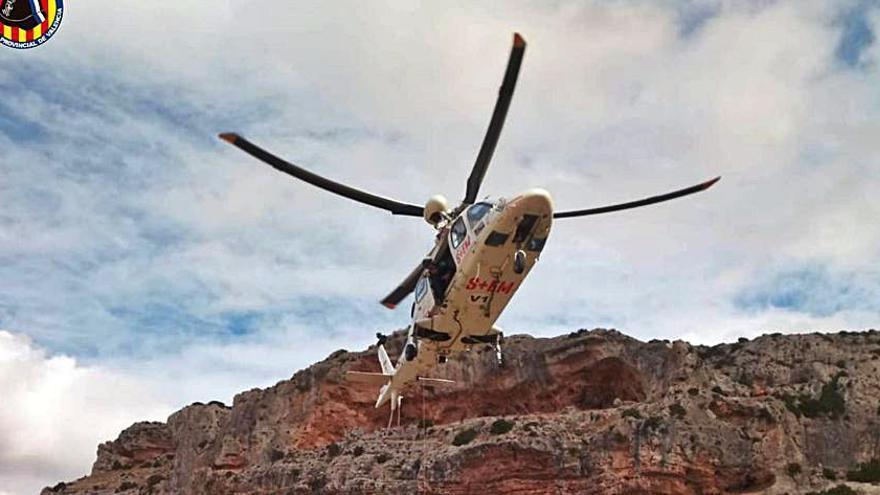 Emergencias coordinó casi 200 rescates en helicópteros en 2020