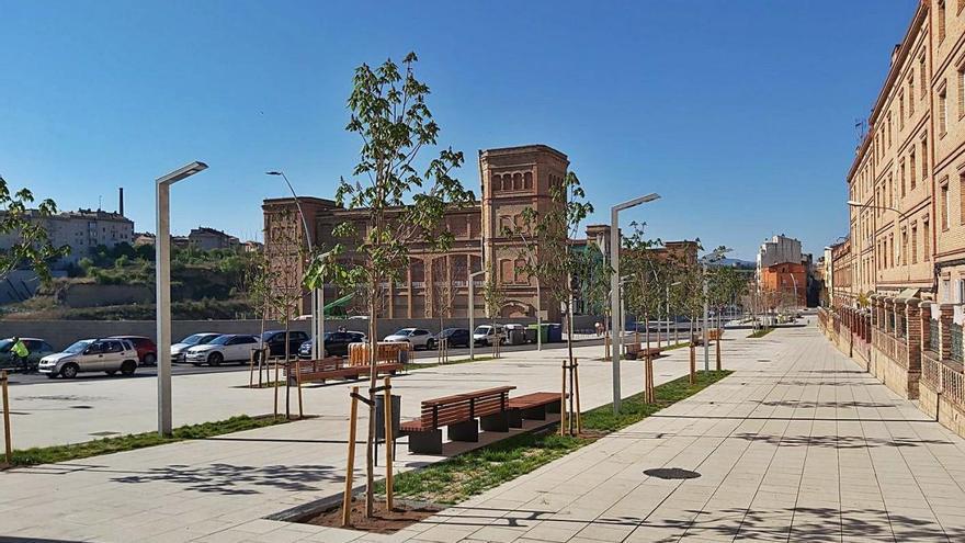El model per a altres carrers principals de Manresa