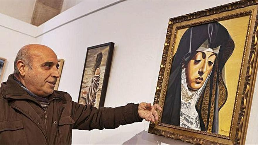 El arte del pintor con artritis
