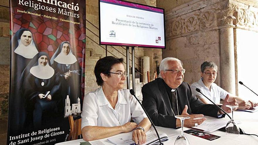 L'Institut de Religioses de Sant Josep de Girona vol optar a la Creu de Sant Jordi