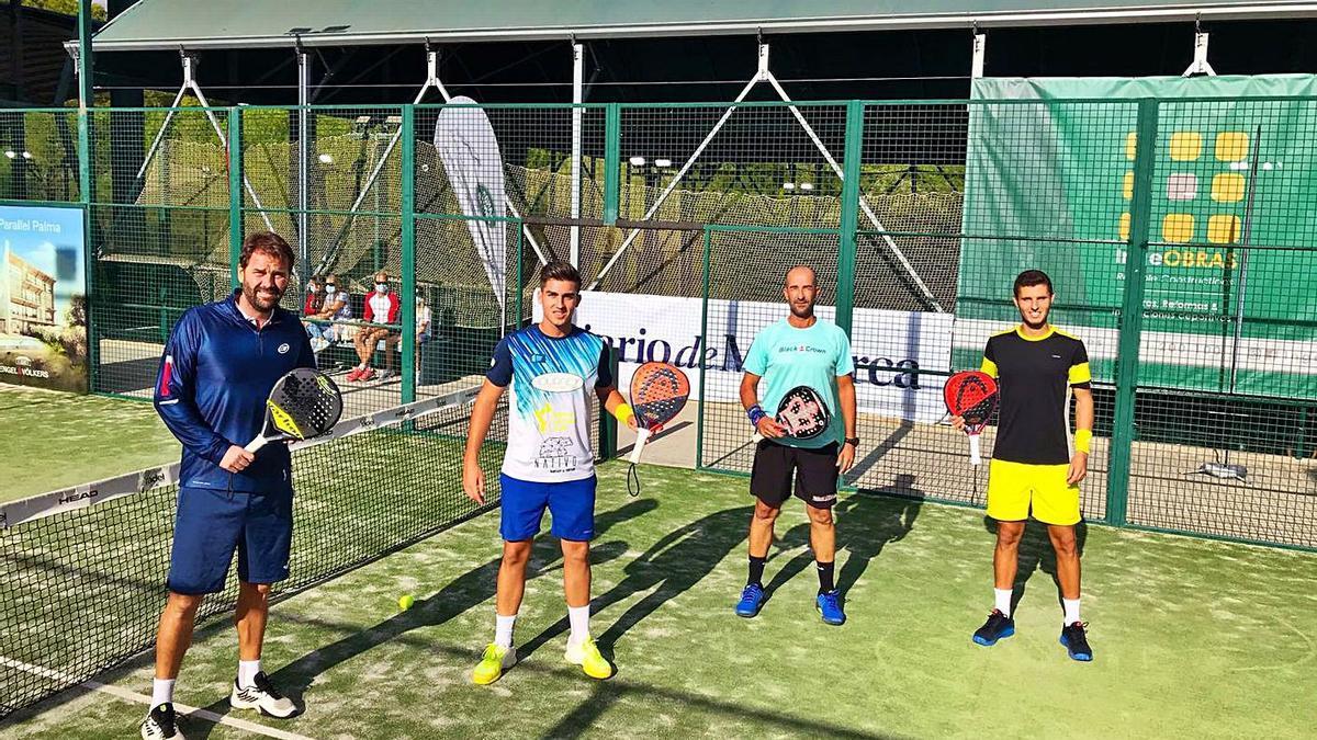 Los palistas Pau Bestard y Carlos Mora cayeron ante David Garvi y David Ferragut.