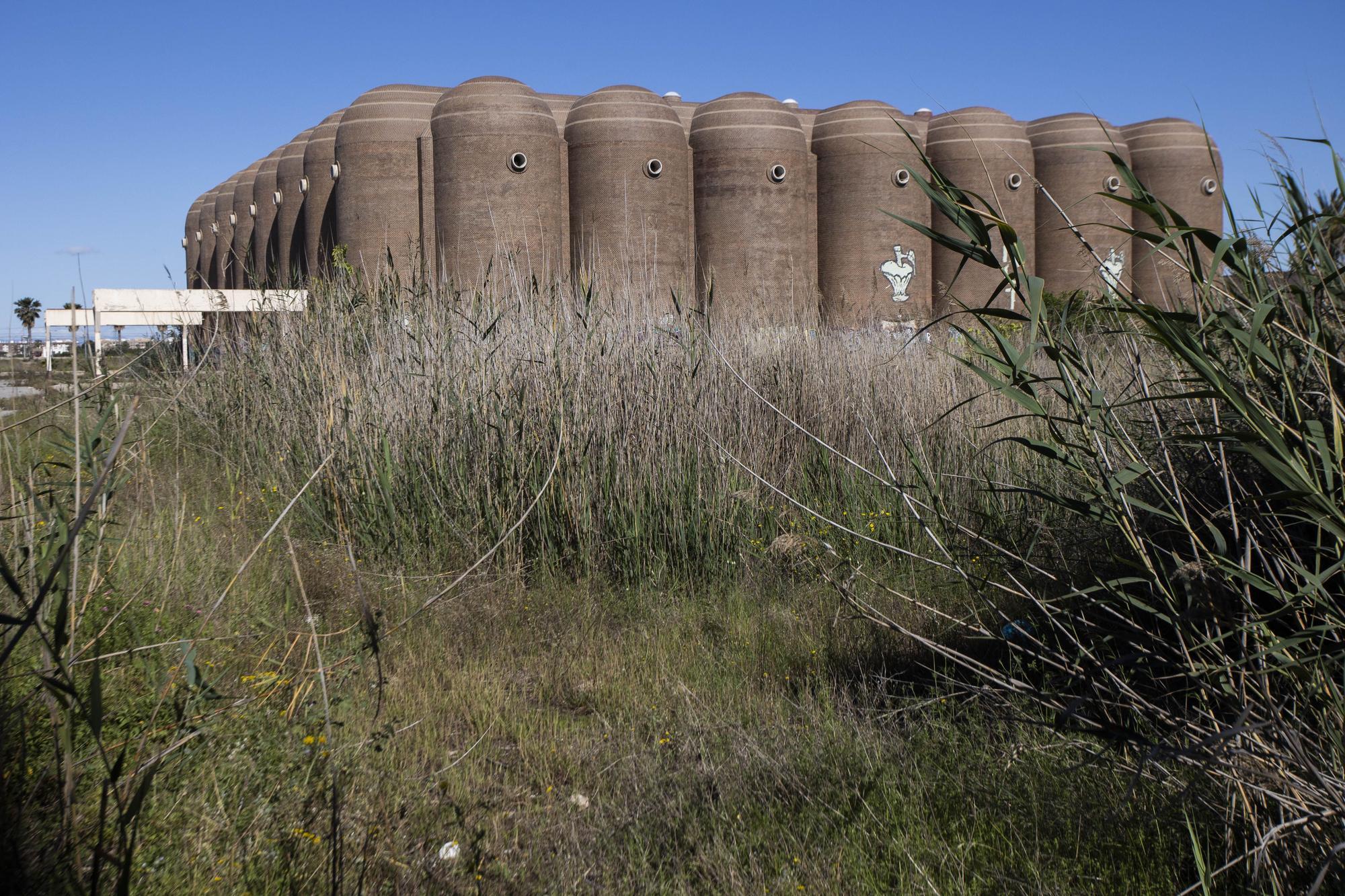 Así están las bodegas Vinival en Alboraia