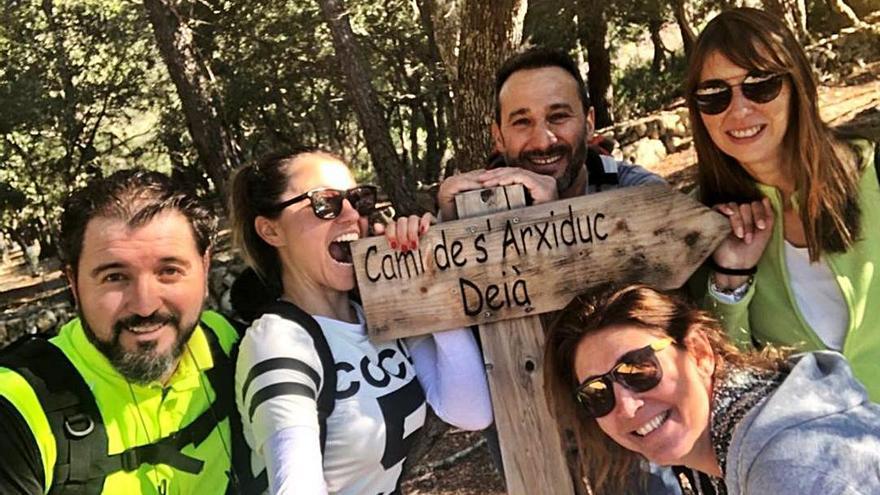 Una vuelta a Mallorca a pie a beneficio de los niños con fibrosis quística