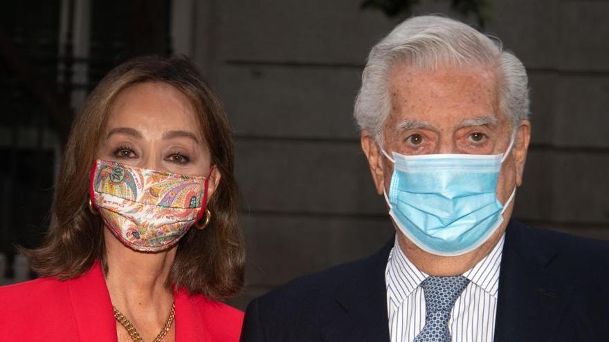 """Vargas Llosa hace diez años: """"Me han dado el Nobel aunque no sé si es broma"""""""
