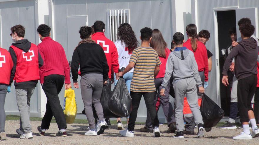 Recortan en 181 euros la ayuda por cada extranjero menor acogido