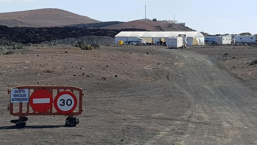 El equipo de 'Los Eternos' ultima el rodaje alrededor del Volcán del Cuervo