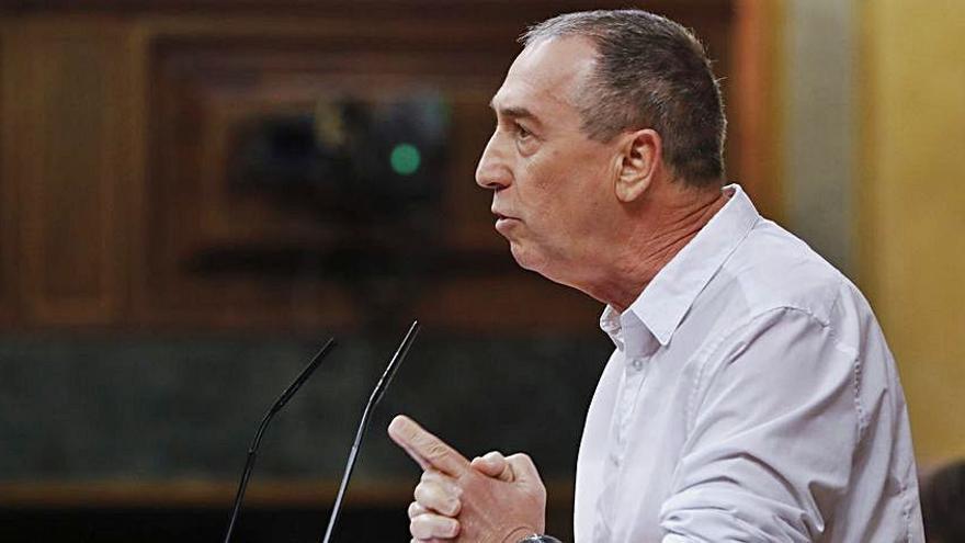 Compromís pide que no haya cambios en el Tajo-Segura hasta aprobarse el plan hidrológico