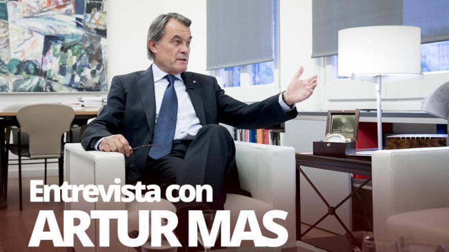 """Artur Mas: """"No haría otro referéndum si no pudiera aplicarse el resultado"""""""