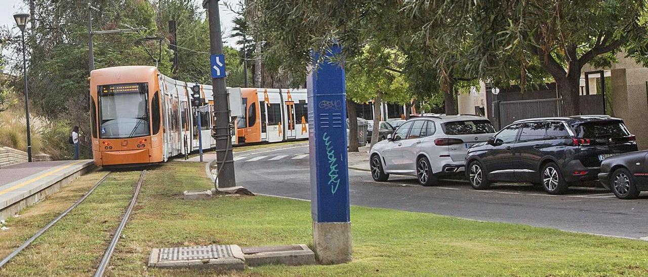 Entorno de estación de Lucentum en Alicante